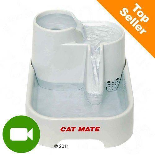 poidełko fontanna - białe| bonus za zamówienie marki Cat mate