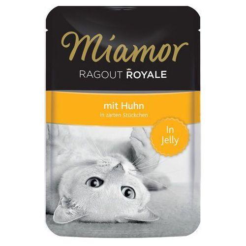 Megapakiet Miamor Ragout Royale w galarecie, 22 x 100 g - Cielęcina