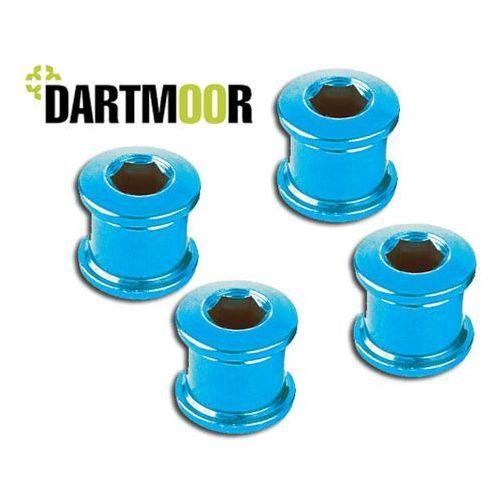 Dartmoor Dart-893 śruby do tarczy mechanizmu korbowego m8 x 8,5 mm 4 szt. niebieskie (5906720831373)