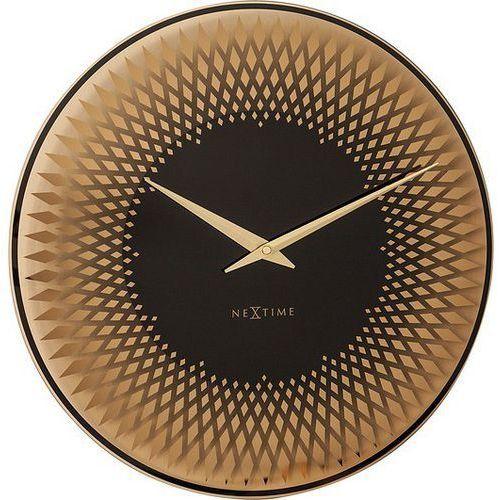 Zegar ścienny Sahara miedziany, 8186CO