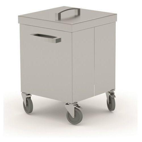 Pojemnik jezdny na odpadki 400x500x600 (h)