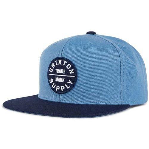 Czapka z daszkiem - oath iii snapback grey blue/navy (gybnv) rozmiar: os marki Brixton