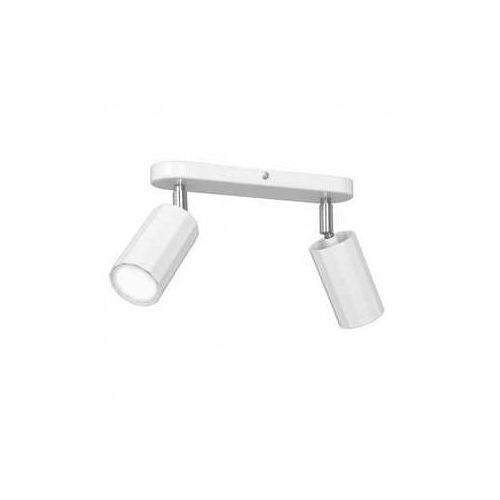Luminex bello 1765 plafon lampa sufitowa spot 2x8w gu10 biały (5907565917659)