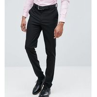 ASOS DESIGN Tall skinny smart trousers in black - Black, kolor czarny