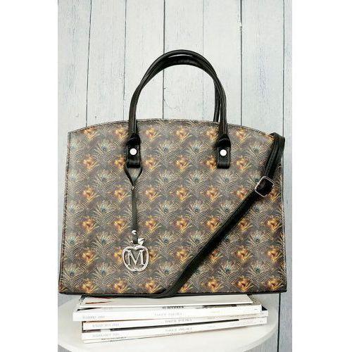 10c70e675a845 Manzana Klasyczny kuferek torebka w styl.