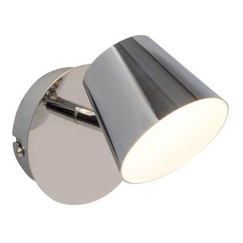 Brilliant Torsion Spot ścienny LED Chrom, 1-punktowy - Nowoczesny - Obszar wewnętrzny - Torsion - Czas dostawy: od 4-8 dni roboczych (4004353249679)