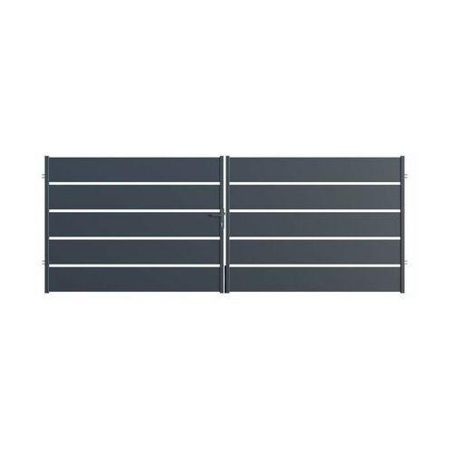 Brama dwuskrzydłowa OPAL 400 x 150 cm POLARGOS (5902360132818)