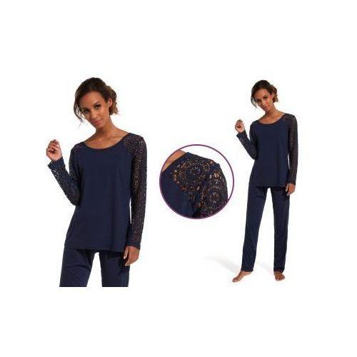 Piżama damska lena: granat marki Cornette