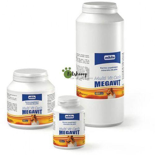 MIKITA Multi Vit Canis Megavit - mieszanka witaminowo - mineralno - aminokwasowa dla psów 50tab.
