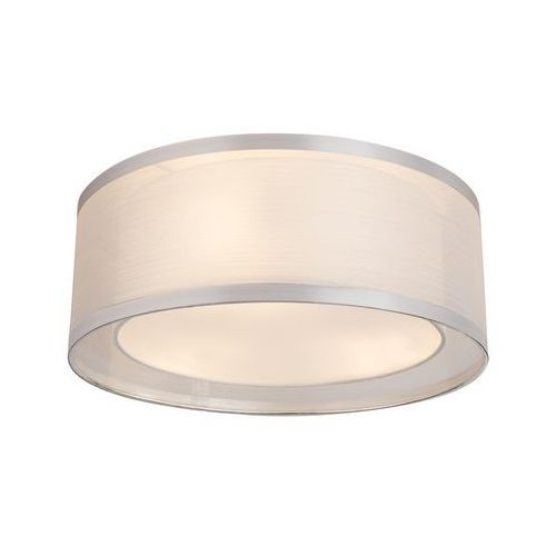Globo Plafon naxos 15259d lampa sufitowa 3x40w e14 chrom / biały