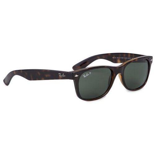 Okulary przeciwsłoneczne - new wayfarer 0rb2132 902/58 brown/green marki Ray-ban