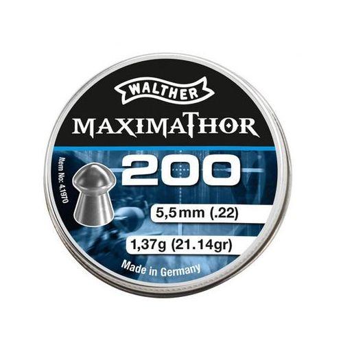 Walther Śrut  maximathor 200 szt. 5,5 mm