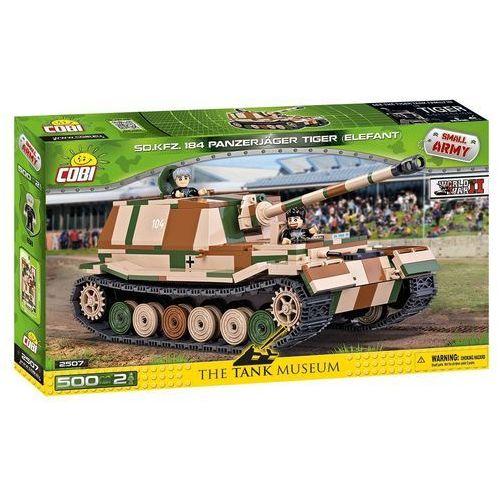 Armia Tiger Elefant niemiecki niszczyciel czolgów - Cobi Klocki