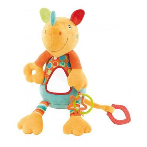 Zabawka FEHN River Gang Nosorożec wibrująca z lusterkiem - produkt z kategorii- Maskotki interaktywne