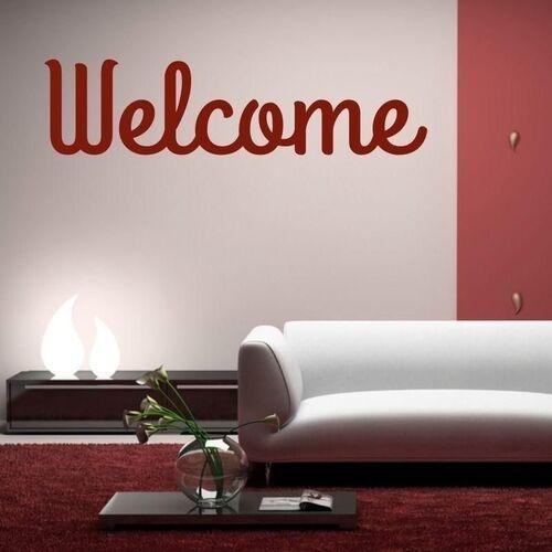 Wally - piękno dekoracji Naklejka 03x 06 welcome 1700