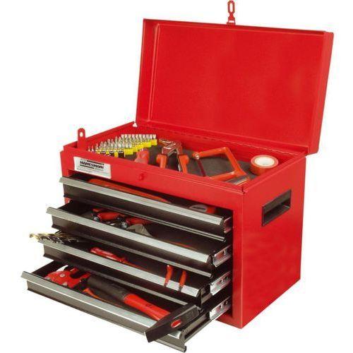 Brüder mannesmann 138-częściowy zestaw narzędzi w skrzyni, 28261 (4003315707752)