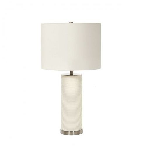 Elstead Ripple white nocna ripple/tl wht 65cm biały