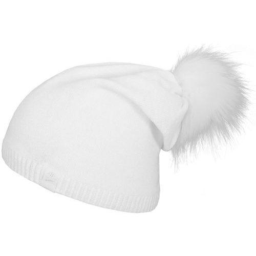 Damska ciepła czapka z17 cad008 onesize biały marki 4f