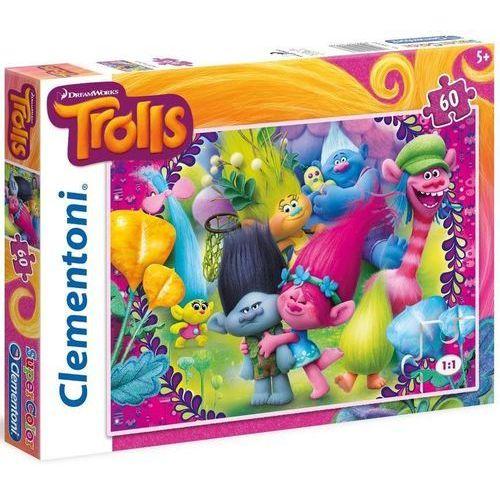 Clementoni 60 elementów trolls (8005125269587)