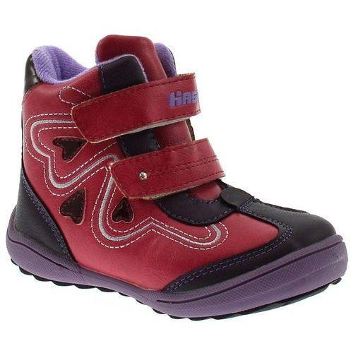 Buty zimowe dla dzieci marki Hasby 1604C, kolor Fioletowy