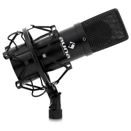 mic-900b usb mikrofon pojemnościowy czarny nerka marki Auna