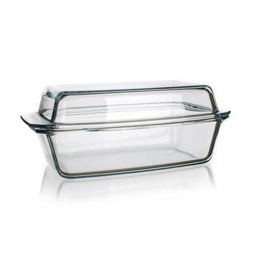 4-home Simax naczynie szklane prostokątne z pokrywką 5,4 l