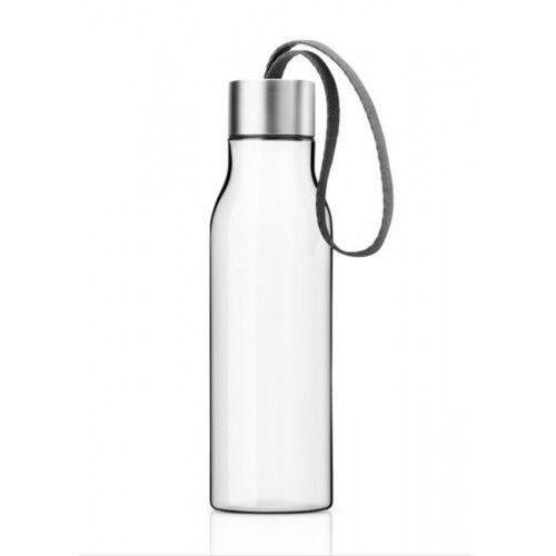 Butelka na wodę z troczkiem szarym, 0,5 l - Eva Solo