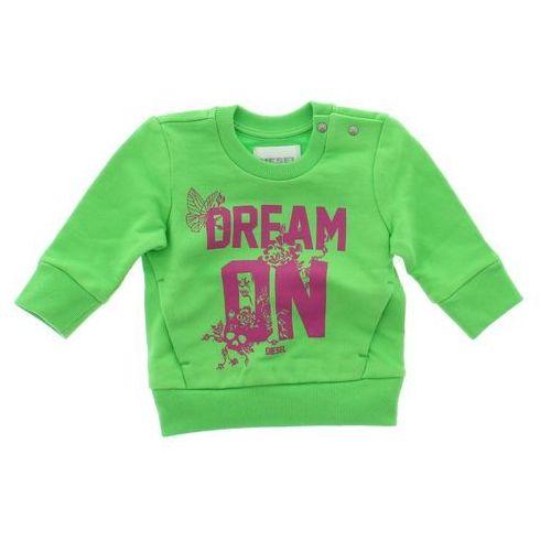 Diesel Bluza dziecięca Zielony 3 miesiące, kolor zielony