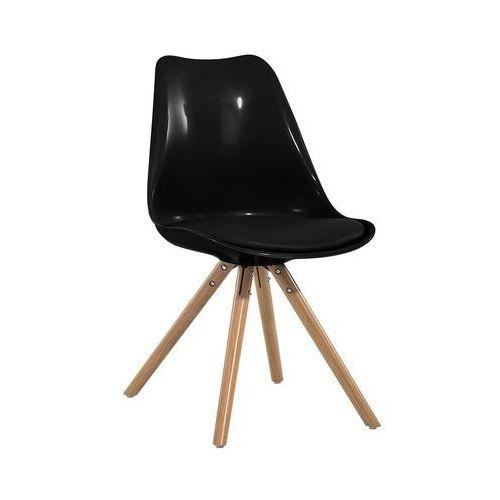 Beliani Krzesło do jadalni czarne dakota (7081455387895)