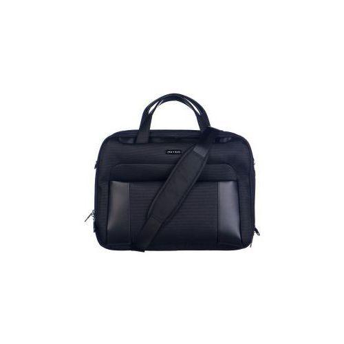 torba na laptopa z kolekcji berlin materiał nylon możliwość poszerzenia marki Puccini