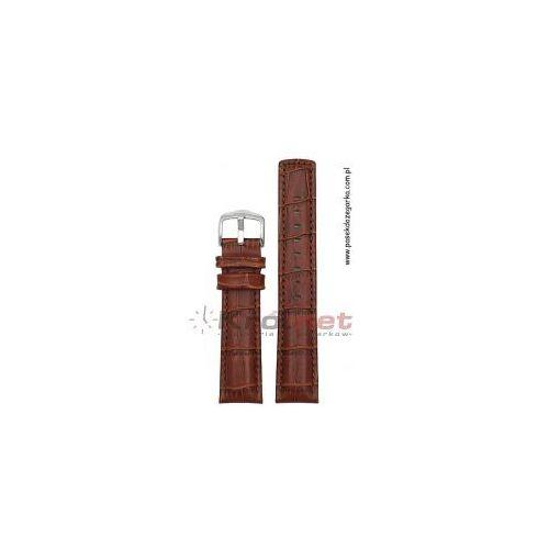 Pasek Hirsch Grand Duke 24 mm - jasny brąz, 02528070/24