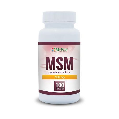 MSM 500mg (MyVita) 100 tabl.