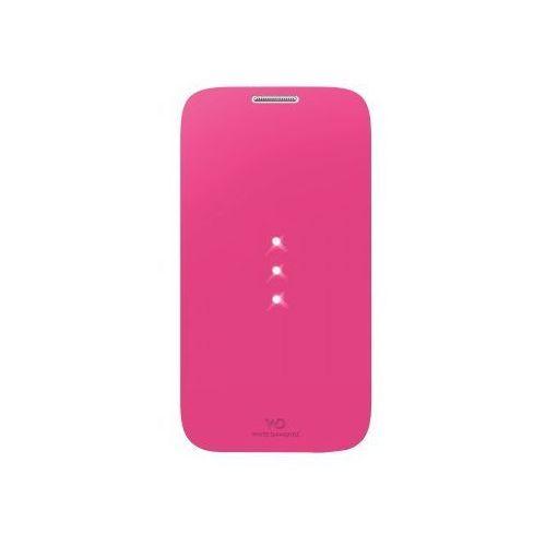 Etui HAMA do Samsung Galaxy S4 White Diamonds Booklet Różowy, kolor różowy