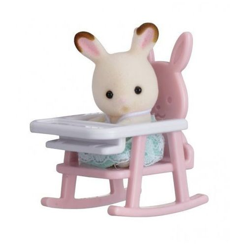 Przenośny zestaw dla dziecka (królik na krzesełku dziecięcym) marki Epoch