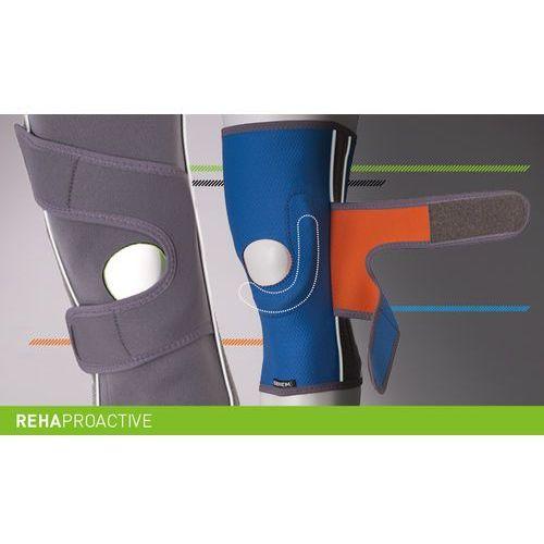 Orteza stabilizująca rzepkę rehaproactive orteza, stabilizcja, rzepka,, rehaproactive, fiszbiny, taśmy krzyżowe, erh 35/f marki Erhem