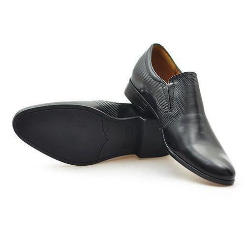 Pantofle Conhpol CB0C-5801-0517-M5D02 Czarne, kolor czarny