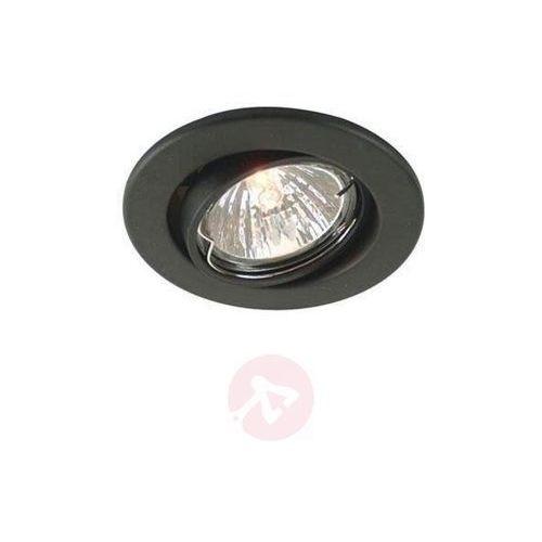 Deko-light Wychylny pierścień wpuszczany 68 czarny matowy (4042943108586)