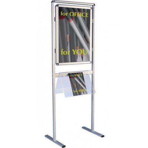 Tablica informacyjna na stojaku 2x3 dwustronna A1(594x841mm), TZSTW/2A1
