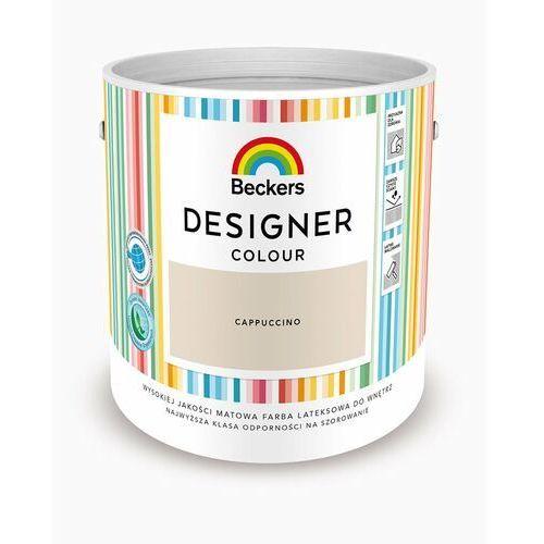 Beckers Farba lateksowa designer colour cappuccino 2,5l