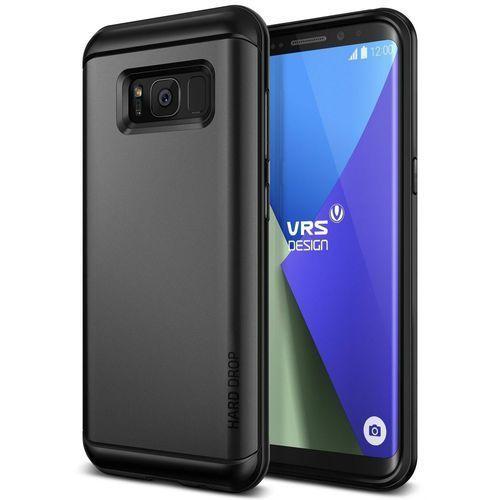 Etui VRS Design Hard Drop Samsung Galaxy S8 Plus Dark Silver (8809477686074)