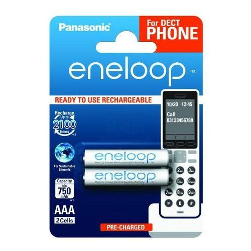 Panasonic  eneloop bk-4mcce/2de aaa 750mah (2szt)