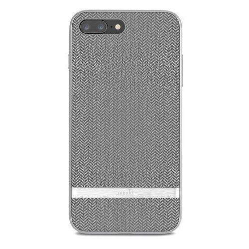 vesta etui obudowa iphone 8 plus / 7 plus (herringbone gray) marki Moshi
