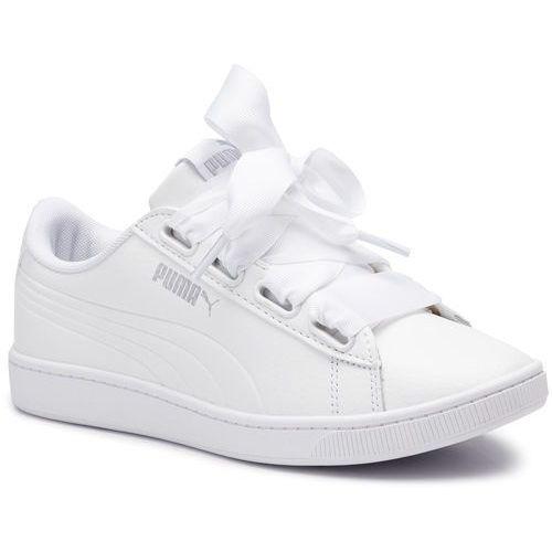 Sneakersy - vikky v2 ribbon core 369114 02 puma white/puma silver marki Puma