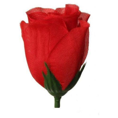 Róża wyrobowa 4x7 cm 1 szt - czerwona - cze marki Creativehobby