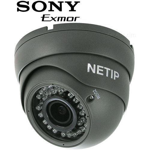 Kamera IP, kopułkowa NETIP K30m 2.0 Szara PoE