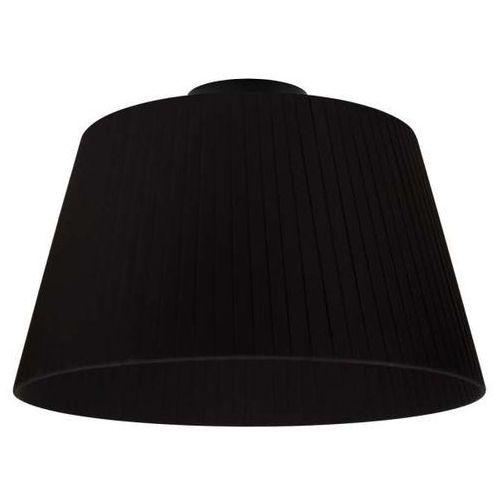 Natynkowa LAMPA sufitowa KAMI ELEMENTARY M CP 1/C/BLACK Sotto Luce abażurowa OPRAWA plafon czarny (5902429625039)