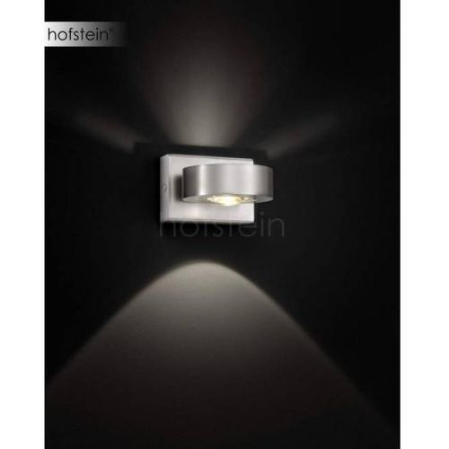 Knapstein Lampa ścienna LED Nikiel matowy, 2-punktowe - Nowoczesny - Obszar wewnętrzny - Knapstein - Czas dostawy: od 2-3 tygodni (4250035816633)