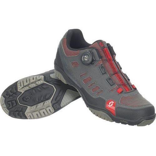 Buty sport crus-r boa czerwono-czarne marki Scott