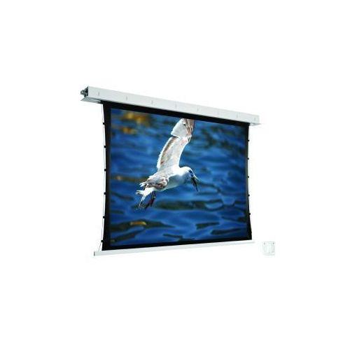 Ekran ścienny elektrycznie rozwijany z napinaczami Avers Contour Tension 210x131cm,16:10,White Ice, 3100