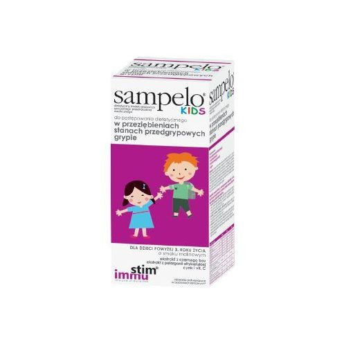 Sampelo kids 120ml marki Krotex poland